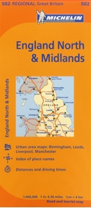 Picture of Michelin - Northern England, The Midlands (502)