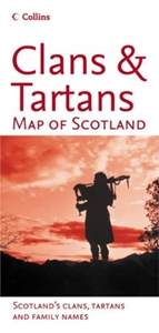 Picture of Collins Clans & Tartans Map of Scotland