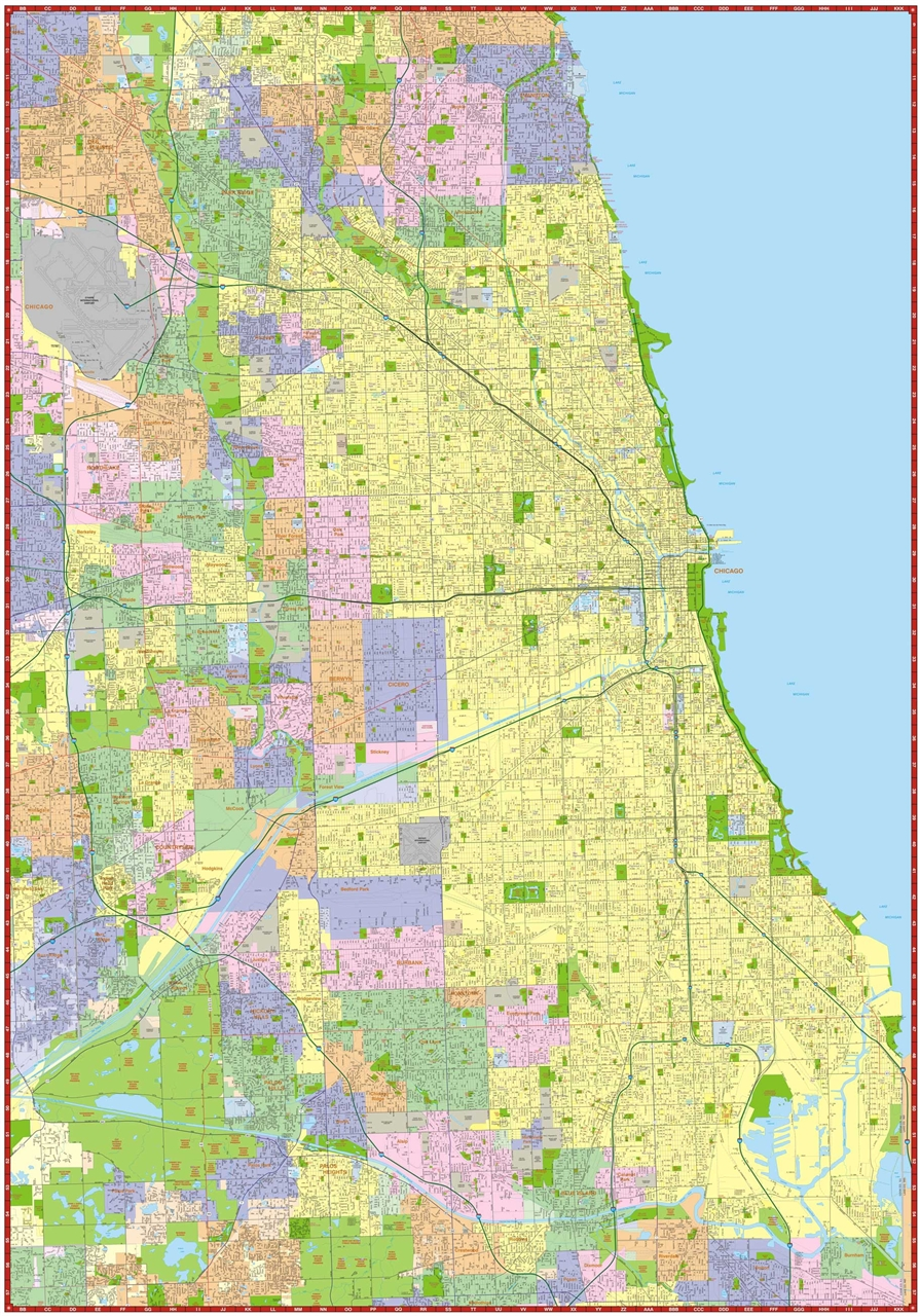 Popular 246 list chicago suburbs map chicago suburbs map chicago neighborhood maps profiles real sciox Images