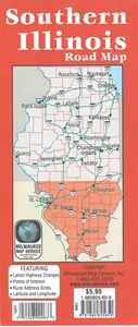 Picture of Southern Illinois Road Map