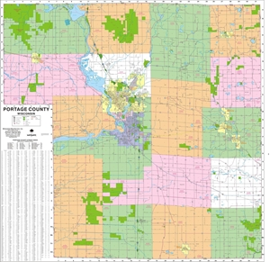 Themapstore County Wall Maps
