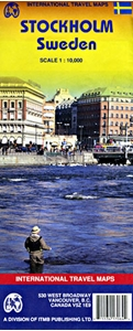 Picture of International Travel Maps - Stockholm