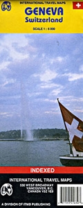 Picture of International Travel Maps - Geneva , Switzerland