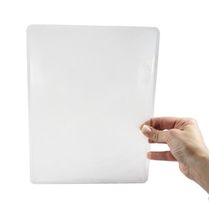 "Picture of 8-1/2"" x 11"" Page Size Non-Lighted Handheld Magnifier 2X Lens"