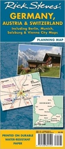 Picture of Rick Steves' Germany, Austria & Switzerland Planning Map