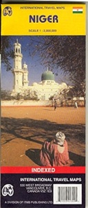 Picture of International Travel Maps - Niger