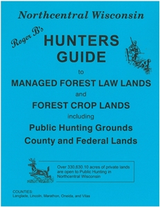 Picture of Roger B's North Central Wisconsin Hunters Guide 2013 Edition
