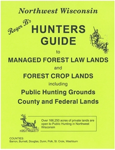 Picture of Roger B's Northwest Wisconsin Hunters Guide 2013 Edition