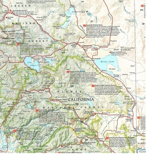 Picture of Sierra Nevada Destination Touring Map & Guide