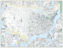 "Picture of United States 3-Digit Zip Code Wall Map Size: 63"" x 48"""