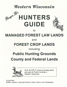 Picture of Roger B's Western Wisconsin Hunters Guide 2013 Edition