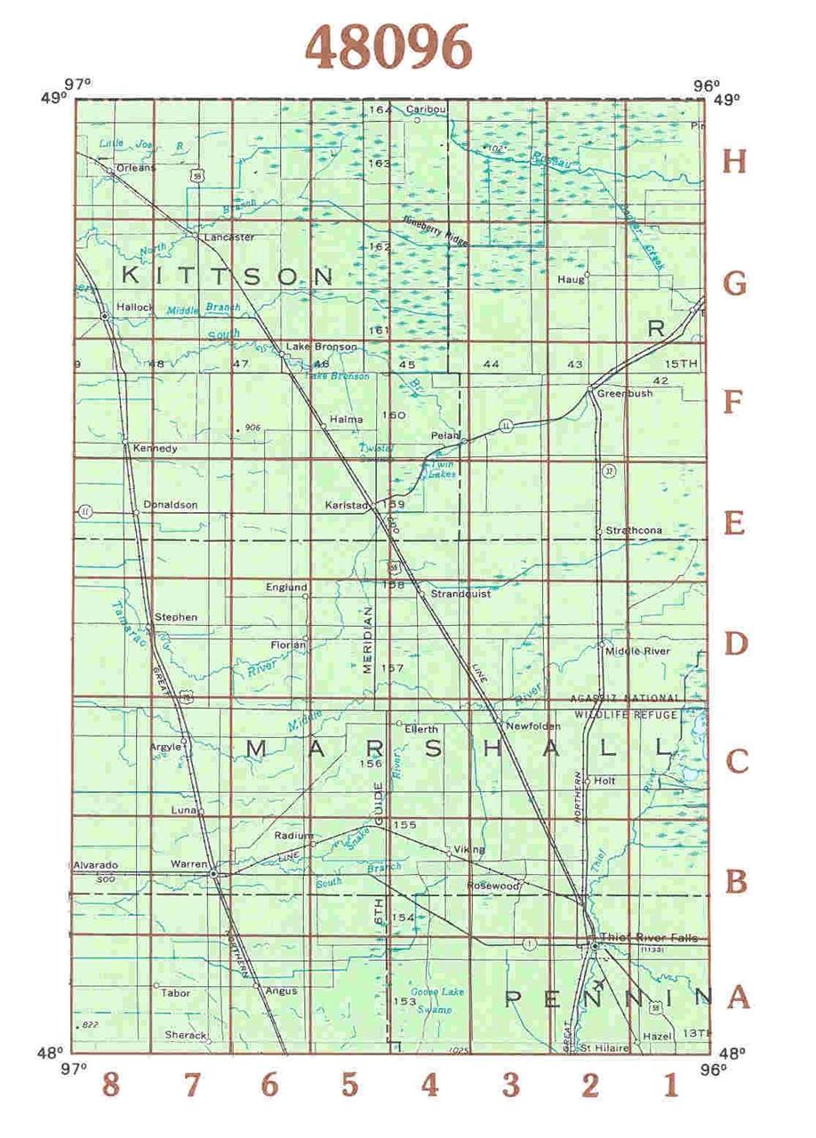 TheMapStore  USGS Minnesota Topographic Maps