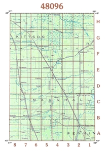 Picture of 48096 - Minnesota Topographic Maps
