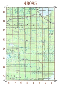 Picture of 48095 - Minnesota Topographic Maps