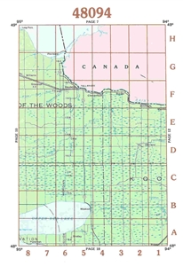 Picture of 48094 - Minnesota Topographic Maps
