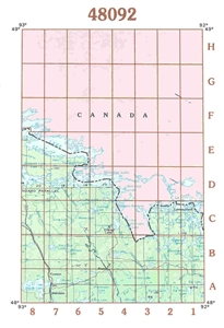 Picture of 48092 - Minnesota Topographic Maps