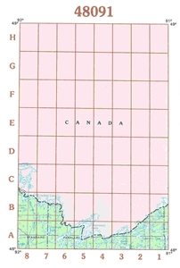 Picture of 48091 - Minnesota Topographic Maps
