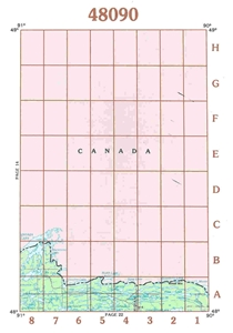 Picture of 48090 - Minnesota Topographic Maps