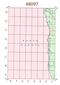 Picture of 48097 - Minnesota Topographic Maps