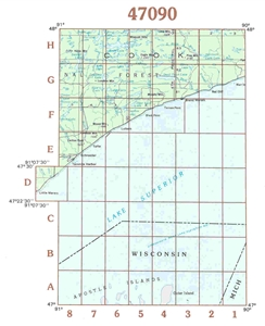 Picture of 47090 - Minnesota Topographic Maps