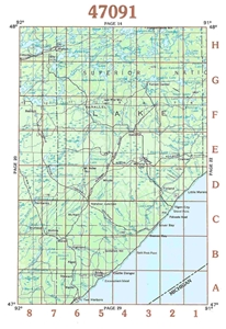Picture of 47091 - Minnesota Topographic Maps