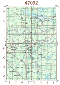 Picture of 47092 - Minnesota Topographic Maps