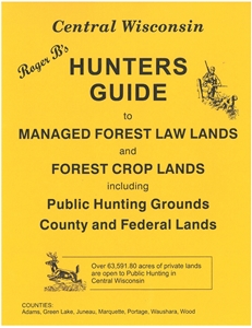 Picture of Roger B's Central Wisconsin Hunters Guide 2013 Edition