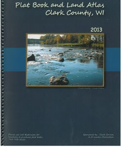 Picture of Clark County Wisconsin Plat Book & Land Atlas 2013