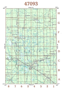 Picture of 47093 - Minnesota Topographic Maps