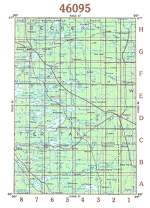 Picture of 46095 - Minnesota Topographic Maps
