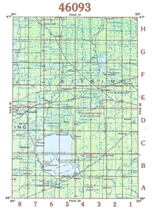Picture of 46093 - Minnesota Topographic Maps