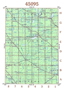 Picture of 45095 - Minnesota Topographic Maps