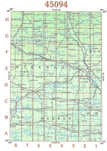Picture of 45094 - Minnesota Topographic Maps