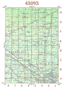 Picture of 45093 - Minnesota Topographic Maps