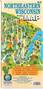 Picture of Northeastern Wisconsin Road Map and Guide
