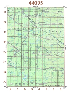 Picture of 44095 - Minnesota Topographic Maps