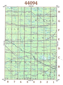 Picture of 44094 - Minnesota Topographic Maps