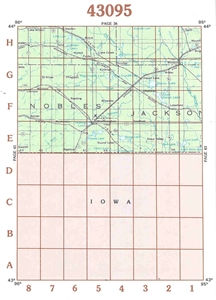 Picture of 43095 - Minnesota Topographic Maps