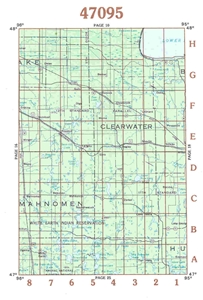 Picture of 47095 - Minnesota Topographic Maps