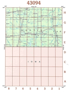 Picture of 43094 - Minnesota Topographic Maps