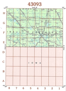 Picture of 43093 - Minnesota Topographic Maps