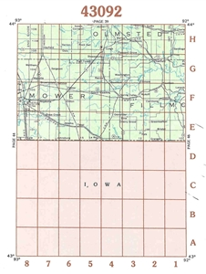 Picture of 43092 - Minnesota Topographic Maps