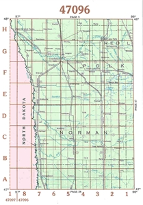 Picture of 47096 / 47097 - Minnesota Topographic Maps