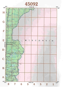 Picture of 45092 - Minnesota Topographic Maps