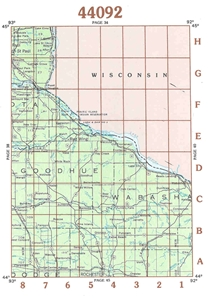 Picture of 44092 - Minnesota Topographic Maps