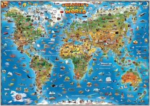 Picture of Children's Map of the World