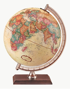 "Picture of Forester 9"" World Globe"