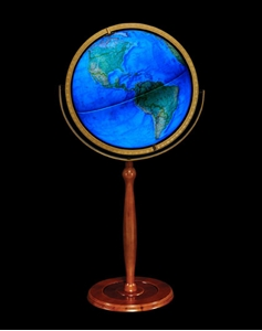 "Picture of Chamberlin 16"" Illuminated National Geographic World Globe"