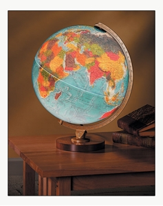"Picture of Livingston 12"" Illuminated World Globe"