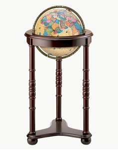 "Picture of Lancaster 12"" Illuminated World Globe"